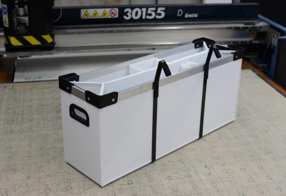 Custom corflute box